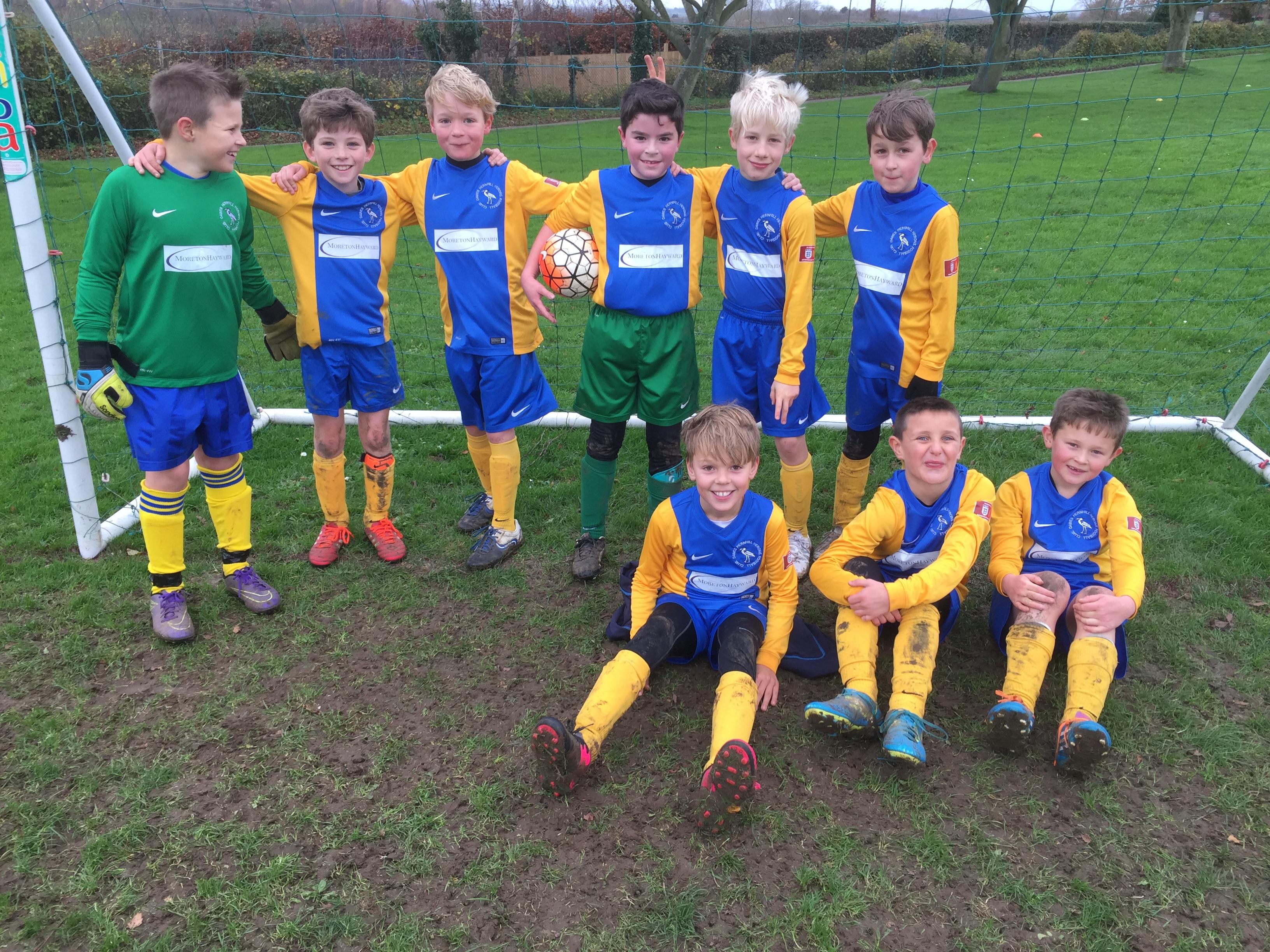 Moreton Hayward proudly sponsor the Dawes Hernhill Herons Junior Football Club